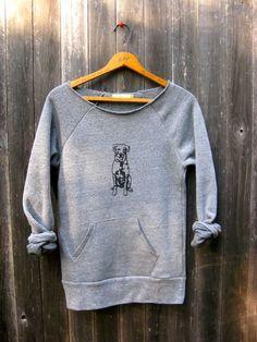 Look @Amanda Smith!  sitstaywanderLab Sweatshirt Dog Sweater by nicandthenewfie on Etsy, $36.00