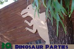 30 Dinosaur Birthday Party Ideas You Will Love - Spaceships and Laser Beams