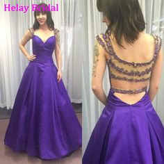 See Through Back, Prom Dress