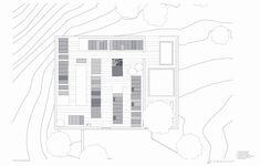 Gallery of Estrela Cementery / Pedro Pacheco + Marie Clément - 25 Siena, Floor Plans, Gallery, Image, Architecture, Graveyards, Roof Rack, Floor Plan Drawing, House Floor Plans