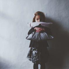 Ali Dover Boheme woven wrap as a cushion cover