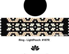 peyote ring patternPDF-Download 132R beading pattern