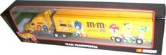 """Hot Wheels Racing NASCAR Team Transporter Big Rig Truck & Hauler MB Motorsports M 36 by Hot Wheels. $49.99. Hot Wheels Racing Team Transporters authentic replioca , die-cast cab , two piece """"rubber"""" tires and team specific graphics !. Rare discontinued !. Hot Wheels Racing Team Transporters authentic replioca , die-cast cab , two piece """"rubber"""" tires and team specific graphics ! No.36 M Team Transporter"""