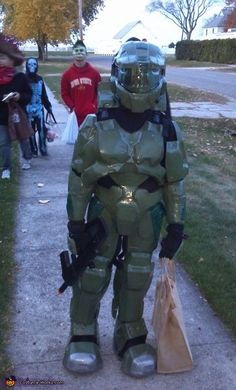 Coolest Homemade Halo Scout Halloween Costume | Halloween costumes ...