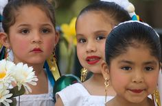 Children at an Earth Day celebration at Olvera Street in downtown Los Angeles by kausbose, via Flickr