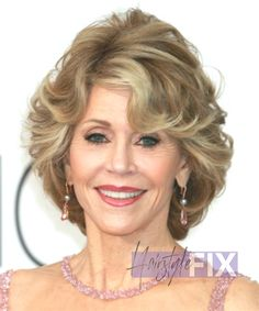 20 stylish and charming Jane Fonda hairstyles - Hairstyle Fix Jane Fonda Hairstyles, Celebrity Hairstyles, Different Hairstyles, Hollywood Celebrities, Style Icons, Charmed, Stylish, Lady, Hair Styles