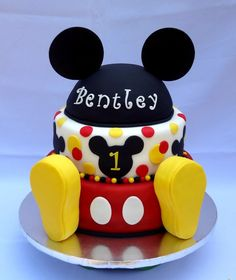 "Mickey Mouse Cakes | Mickey mouse birthday cake - by cakesbg @ <a href=""http://CakesDecor.com"" rel=""nofollow"" target=""_blank"">CakesDecor.com</a> - cake ..."