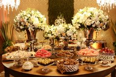 Mesa de doces - Foto Giovani Garcia Fotografia