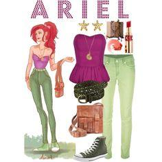 Dressing Like A Modern Disney Princess: Ariel