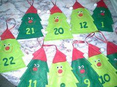 Freche Tannebäumchen zum Befüllen - #Nähkalender