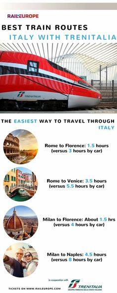 The train is the fastest, easiest, and most comfortable way to get through #Italy ! #ItalyTrip