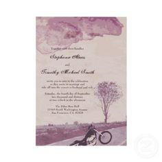 Motorcycle Wedding Invitations | Two Wheel Weddings