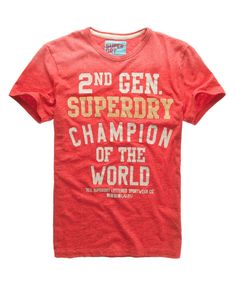 c90faa92e Superdry Mens AW13 T-shirts - Baddesigner® Customise T Shirt, Vest Outfits,