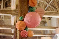 Sous Le Lampion / Lantern and Lampion Decoration, Easter Eggs, Lanterns, Birthday, Souffle, Ciel, Brunch, Bass, Paper Flowers