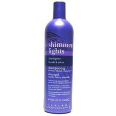 Clairol Shimmer Lights 16oz. Shampoo (BlondeandSilver) (2 Pack) -- Click on the image for additional details. #hair