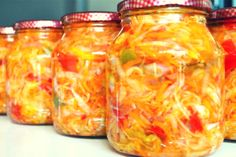 Pickling Cucumbers, Conservation, Pickles, Mason Jars, Cooking, Food, Canning, Salads, Kitchen