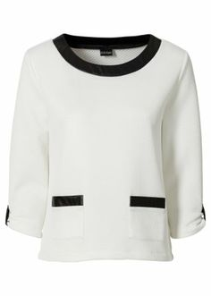 #sweater #black and #white from #bodyflirt