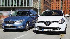 Skoda Fabia Wagon vs. Renault Clio Grandtour Skoda Fabia, Cars, Vehicles, Autos, Rolling Stock, Automobile, Car, Vehicle
