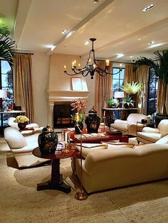 Ralph Lauren Home Spring 2017 Mulholland Drive Living RoomTraditional InteriorTraditional