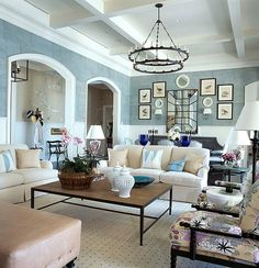 Rod Mickley Interiors creates beautiful Living Rooms