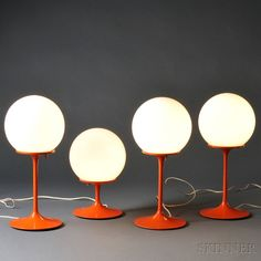 Four Stemlite by Design Line Table Lamps | Sale Number 2661B, Lot ...