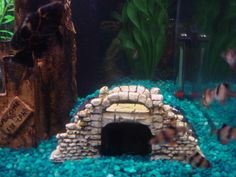 DIY Aquarium Caves | DIY Caves - with a blow torch and sawzall!