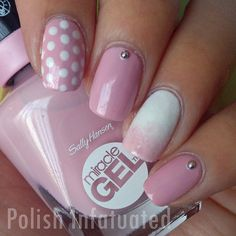 Sally Hansen Miracle Gel Pinky Promise & Get Mod ~ Polish Infatuated