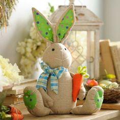 Patchwork Easter Bunny Boy | Kirklands