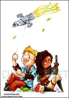 Wash and Zoe #Firefly