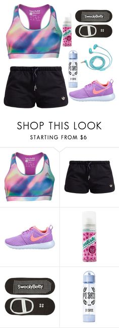 """""""Untitled #591"""" by tatyanaoliveiratatiana ❤ liked on Polyvore featuring adidas, adidas Originals, NIKE, Batiste, Sweaty Betty and FOSSIL"""