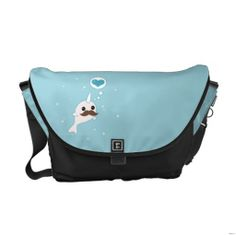 Kawaii Narwhal with Mustache Courier Bag http://www.branddot.com/14/kawaii_narwhal_with_mustache_courier_bag-210394592756274138