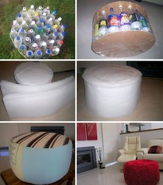 40 Cool Ways To Upcycle And Reuse Plastic Bottles Empty Plastic Bottles, Recycled Bottles, Reuse Bottles, Plastic Containers, Easy Plastic Bottle Crafts, Plastic Container Crafts, Soda Bottle Crafts, Recycled Crafts, Diy And Crafts