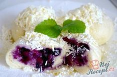 Slovak Recipes, Czech Recipes, Ethnic Recipes, 5 Ingredient Desserts, Cream Cheese Filling, Food Humor, Chocolate Desserts, Sweet Recipes, Sweet Treats