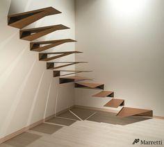 unusual-unique-staircase-modern-home-origami-metal.jpg