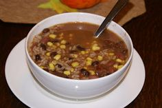 Rice and Bean Soup