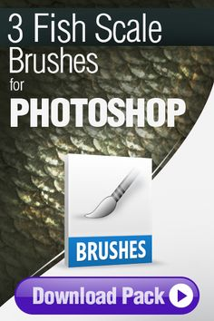 Photoshop Brushes: 3 Fish Scale Brushes for Photoshop http://pixelstains.net/3-photoshop-brushes-painting-fish-scales/