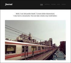 Journal – Responsive Small Business & Portfolio WordPress Theme