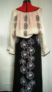 bluza-si-fusta-brodate Embroidery, Needlepoint, Crewel Embroidery, Embroidery Stitches