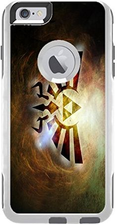 Zelda Symbol Design Print Image Otterbox Commuter iPhone 6 Plus Vinyl Decal Sticker Skin by Trendy Accessories available at https://www.amazon.com/dp/B01LXC2VMC #vinyldecalsticker #iphone6plus #customizediphone6plusvinyldecalsticker #iphone6plusaccessories #mobileaccessories #zeldasymbol #tadesigns