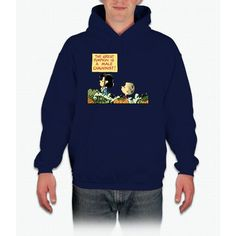 Lucy Protests The Great Pumpkin Charlie Brown Hooded Sweatshirt