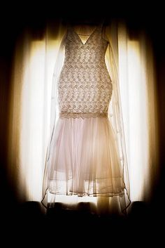 O lindo vestido do casamento do belo casal Fred e Thaina