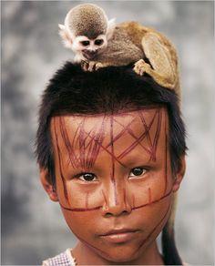 Nukak Makú child, Colombia