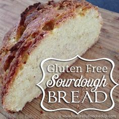 Love sourdough but you're gluten free? This Gluten Free Sourdough Starter is so easy - you can have tasty sourdough bread ready right away. Gf Recipes, Gluten Free Recipes, Bread Recipes, Real Food Recipes, Celiac Recipes, Recipies, Pan Sin Gluten, Sem Lactose, Foods With Gluten