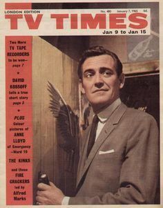 9th January 1965 Emergency Ward 10, The Kinks, Tv Times, Colorful Pictures, Magazine Covers, Short Stories, Britain, Magazines, Nostalgia