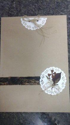 Envelopes decorados