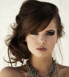 10 Mejores Peinados de Lado Hair style Haircuts and Makeup