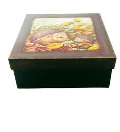Caja Joyero, Organizador Pintada A Mano 20x20 #JohannaHandMade #mate Decorative Boxes, Home Decor, Painted Boxes, Jewel Box, Organizers, Decoration Home, Room Decor, Home Interior Design, Decorative Storage Boxes