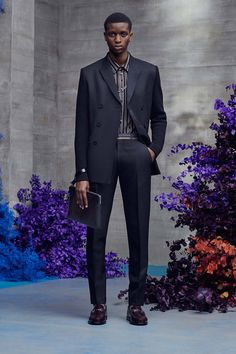 Dior Men Resort 2021 Menswear - Fashionably Male Fashion Show Collection, Men's Collection, Dior Men, 21 Men, Men Store, Elements Of Style, Double Breasted Jacket, Vogue Russia, High Tops