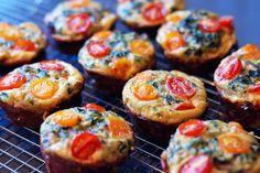 Prosciutto-Wrapped Mini Frittata Muffins