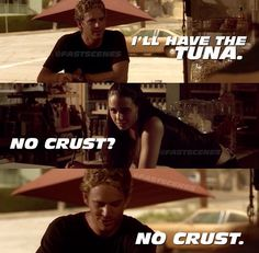 Brian O'Conner & Mia Toretto (Paul Walker & Jordana Brewster)